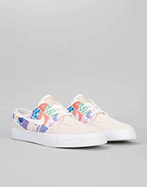 Nike SB Zoom Stefan Janoski Skate Shoes (Quilt Pack) - Sail/Met Gold
