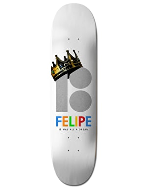 Plan B Felipe Royalty BLK ICE Pro Deck - 8.25