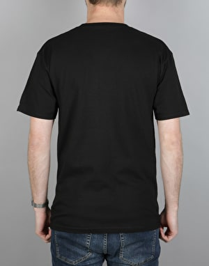 Emerica T Is For Templeton T-Shirt - Black