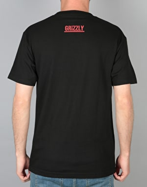 Grizzly Top Team T-Shirt - Black