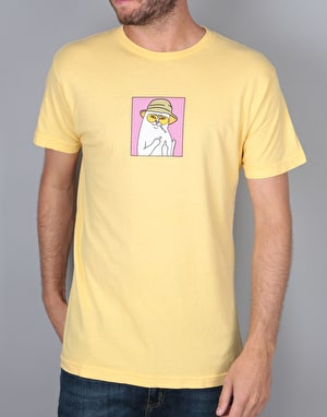 RIPNDIP Nermal S. Thompson T-Shirt - Yellow