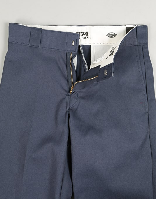 "Dickies 874 Work Pants 30"" Leg - Navy"