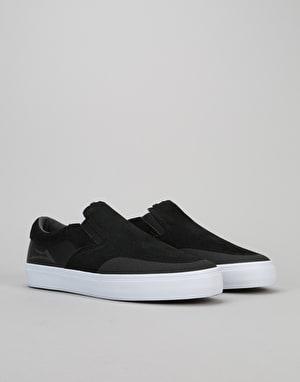 Lakai Owen Skate Shoes - Black Suede