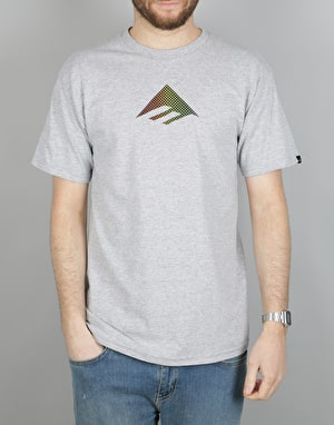 Emerica Rasta Triangle T-Shirt - Grey/Heather