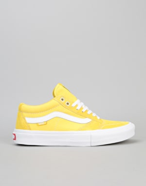 Vans TNT SG Pro Skate Shoes - Maize/White