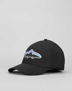 Patagonia Fitz Roy Trout Stretch Fit Cap - Black