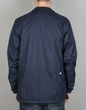 Nike SB Shield Coaches Jacket - Obsidian/White