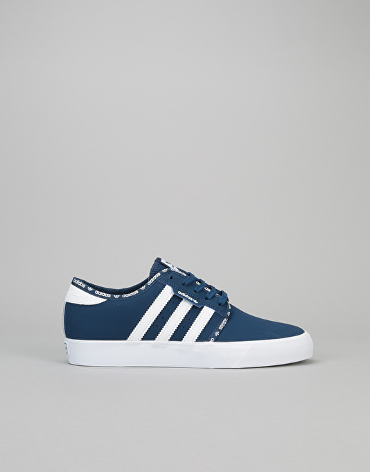 Adidas Seeley Shoe - Mystery Blue White - J5r5159