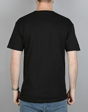 Emerica Stem Script T-Shirt - Black