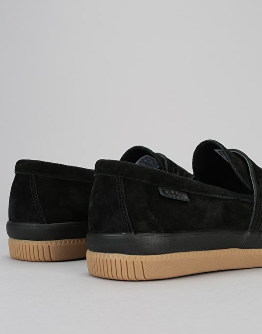 Adidas Acapulco Skate Shoes - Core Black/Core Black/Gum