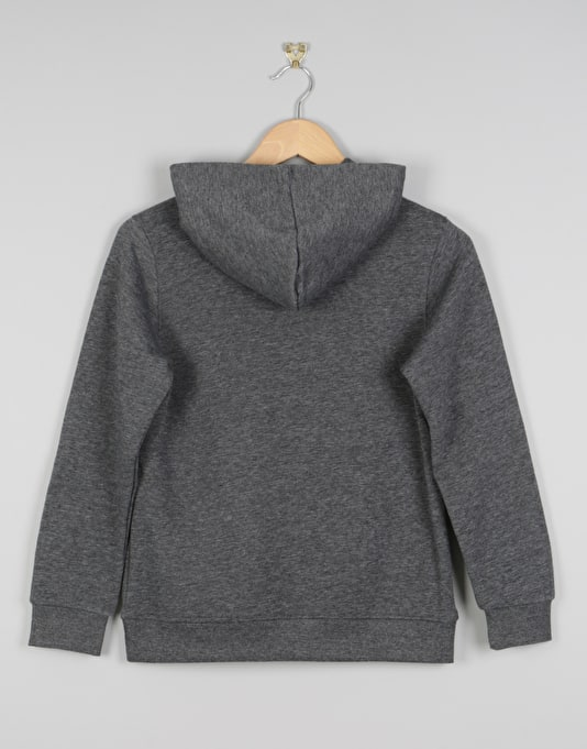 Element Vertical Boys Pullover Hoodie - Charcoal Heather