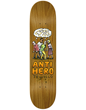 Anti Hero Trujillo Wonderful Life Pro Deck - 8.18