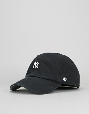 '47 Brand MLB New York Yankees Abate Clean Up Cap - Black