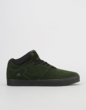 Emerica Hsu G6 Skate Shoes - Green Black