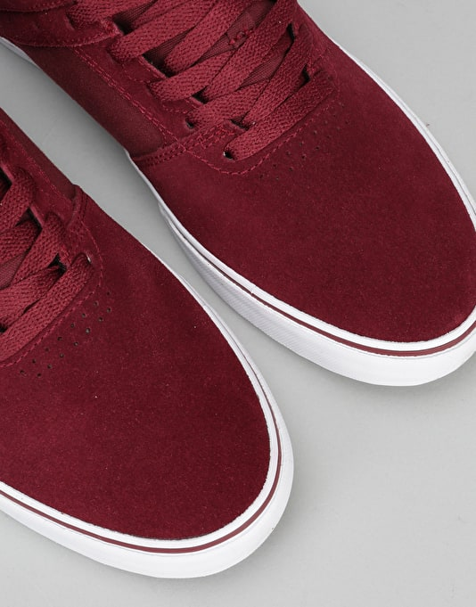 Emerica The Reynolds Low Vulc Skate Shoes - Red/White/Gum