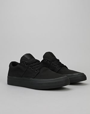 Supra Stacks II HF Vulc Skate Shoes - Black-Black