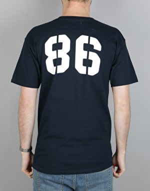 Etnies 30 Athletic T-Shirt - Navy