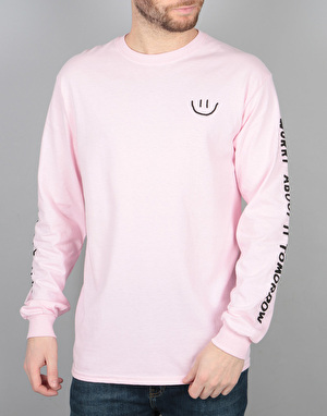 The Quiet Life Worry About It Tomorrow L/S T-Shirt - Pink