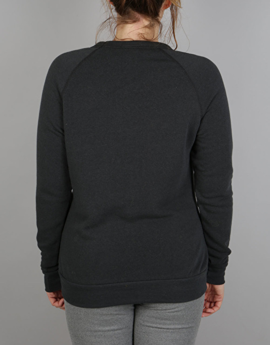 Thrasher Alien Boyfriend Crewneck Sweat - Black