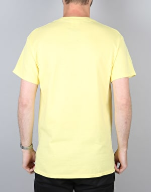 Manor California T-Shirt - Cornsilk