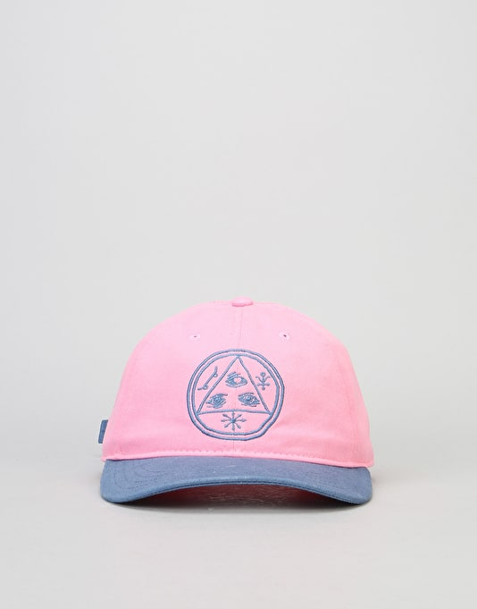 Welcome Basic Witch Unstructured Slider Cap - Pink/Slate