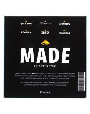 Emerica Made Chapter 2 DVD