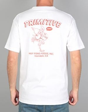Primitive x Huy Fong Saucy T-Shirt - White