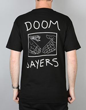 Doom Sayers Snake Shake Pocket T-Shirt - Black
