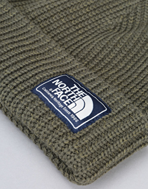 The North Face Salty Dog Beanie - New Taupe Green/Burnt Olive Marl