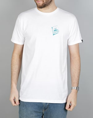 Etnies Match Book T-Shirt - White