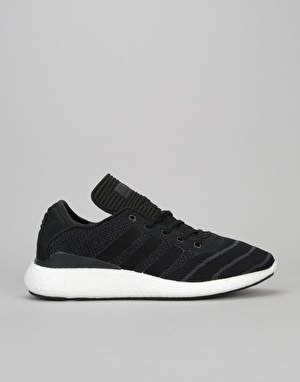 Adidas Busenitz Pure Boost Skate Shoes - Core Black/Core Black