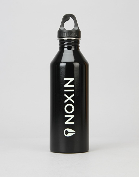 MIZU x Nixon M8 Lock Up 800ml/27oz Water Bottle - Gloss Black/Glow