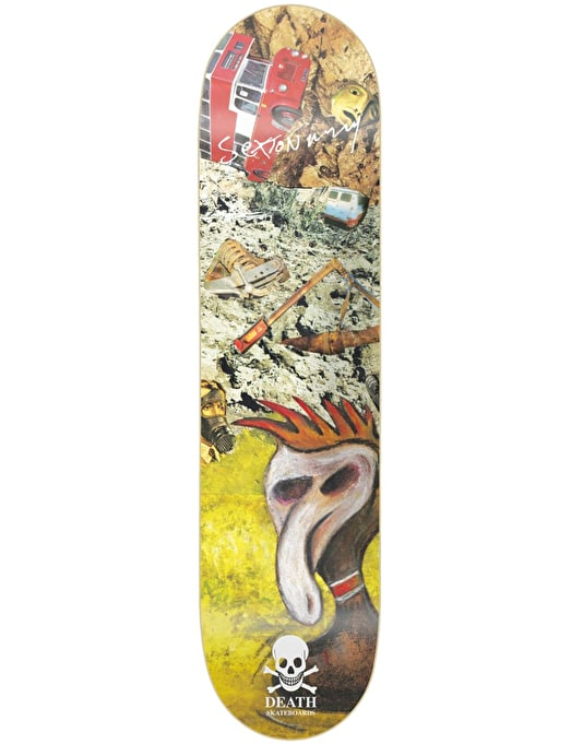 Death Sexton Ming #3 Skateboard Deck - 8.25""