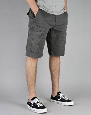Element Legion Cargo Walkshorts - Off Black