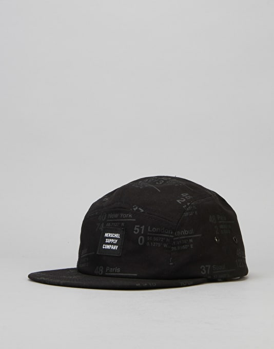 Herschel Supply Co. Glendale 5 Panel Cap - Site