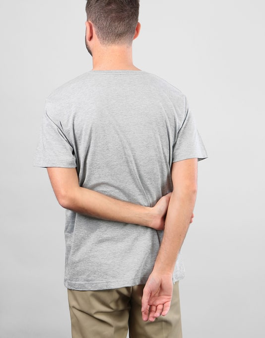 Route One Essentials T-Shirt - Heather Grey