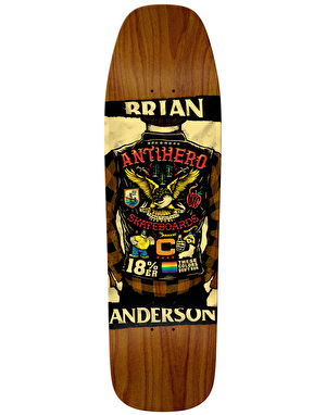 Anti Hero BA Flying Colours Pro Deck - 9.25