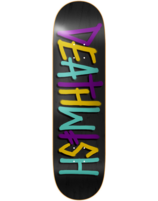 Deathwish Deathspray Multi Skateboard Deck - 8.125""
