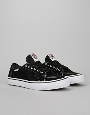 Vans AV Classic Skate Shoes - Black/White