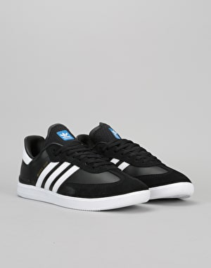 Adidas Samba ADV Skate Shoes - Core Black/Ftwr White/Bluebird