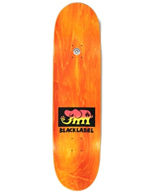 Black Label Elephant Fade Block Team Deck - 8.5