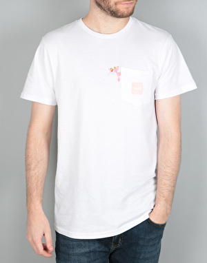 HUF x Pink Panther Pocket T-Shirt - White