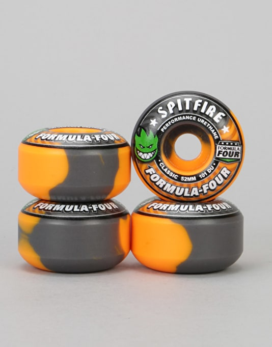 Spitfire Hazard Formula Four Classic 99d Team Wheel - 52mm