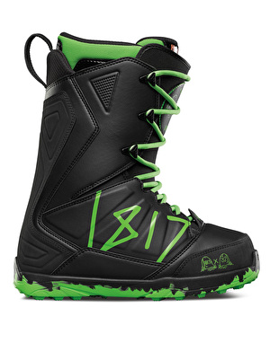 Thirty Two Lashed 1817 2017 Snowboard Boots - Black/Green