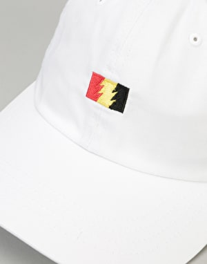 The Hundreds Flag Strapback Cap - White