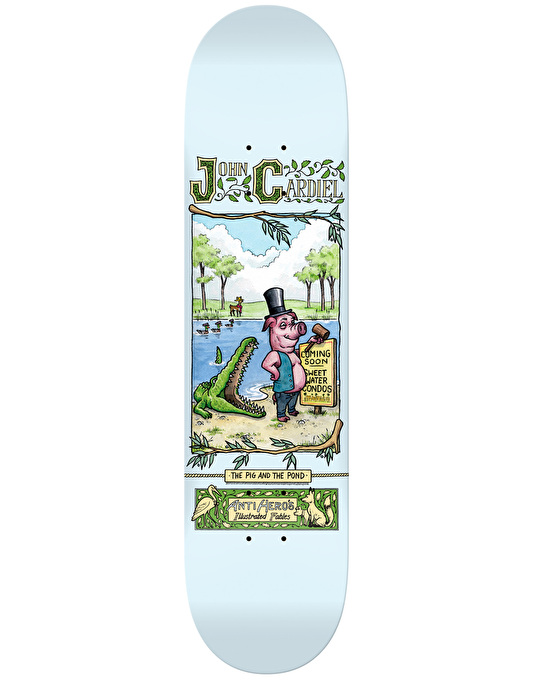 Anti Hero Cardiel Fables Skateboard Deck - 8.06""
