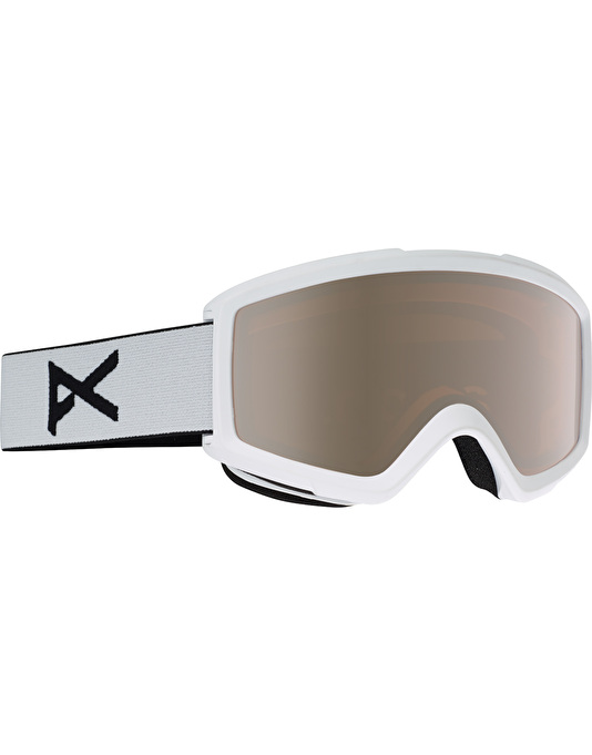 Anon Helix 2.0 2017 Snowboard Goggles - White/Silver Amber