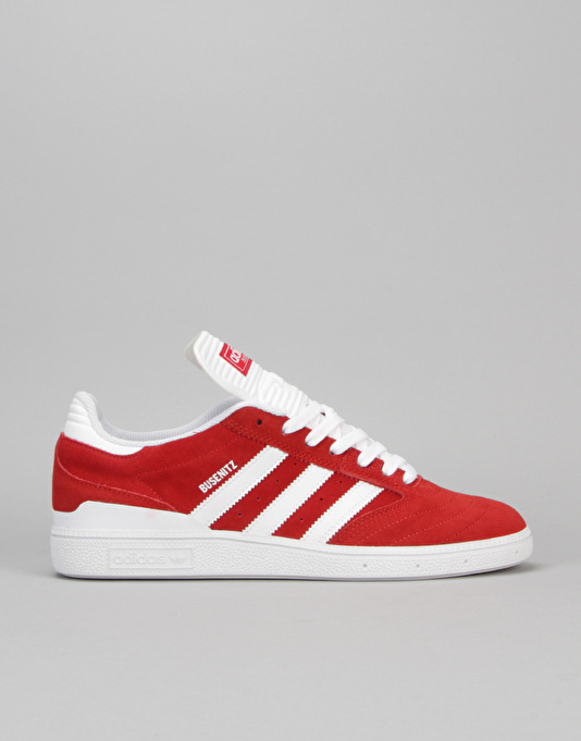 online retailer ac54e 86c3f Adidas Busenitz Skate Shoes - ScarletWhiteWhite  Skate Shoes  Mens  Skateboarding Trainers  Footwear  Route One