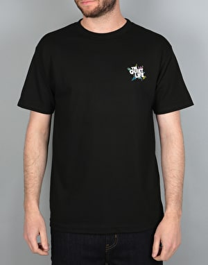 The Quiet Life Ziggity T-Shirt - Black