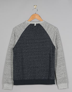 Element Meridian Boys Sweatshirt - Indigo/Grey Heather